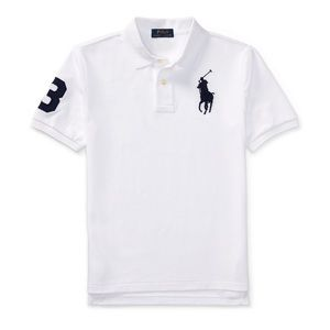 NWT Ralph Lauren Big Boy Giant Logo Polo Shirt